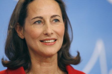 La ministra de Ecología francesa, Sègolène Royal.