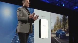 Elon Musk durante la presentación.