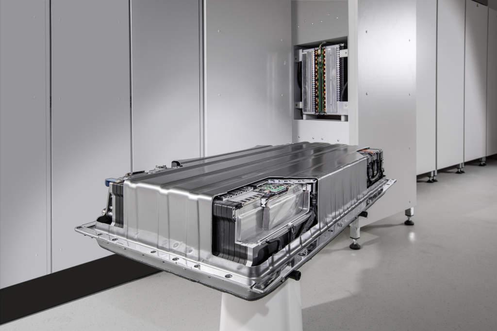Batería de almacenamiento energético de Mercedes-Benz. FOTO: Daimler.