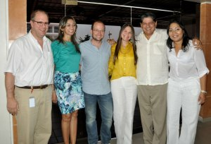 Pablo Urrutia, Ana María Ferrer, Daniel Samper, Margarita Saade, Alfredo Araújo y Mildreth Zapata.