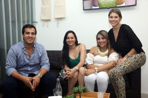 Jorge Camilo Gnecco, Ana María Mazeneth, Julisa López y Sandra Rocha.
