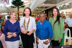Rita Fernández, Antonia Daza, Miguel Morales y Olga González.