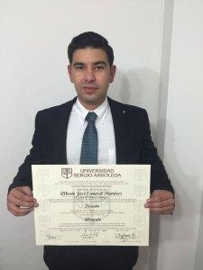 Alberto José Esmeral Ramírez.