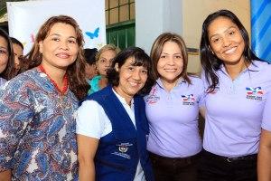 Marleidys Molina, Mariet Ahumada, Sol María Liñán y Claudia Margarita Zuleta.
