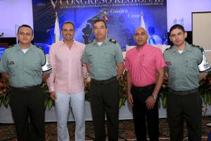 Jaime Ortiz, Carlos González, William Balero, Carlos Herrera y Oneimar Duarte.