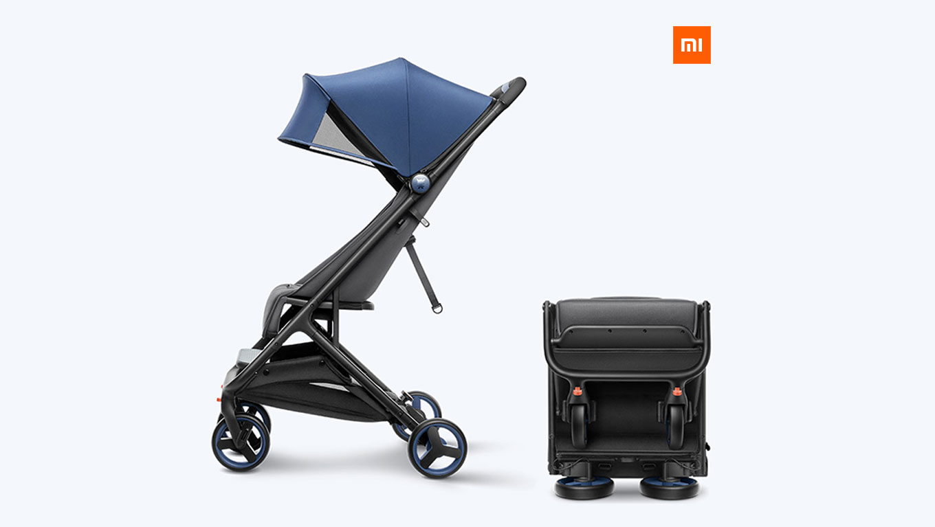 Lightweight Folding Pram Xiaomi Stroller Folding Travel Buggy Review