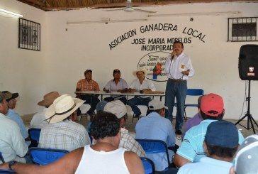Domingo flota hombre de hechos; así ratifico su apoyo a los ganaderos de José María Morelos