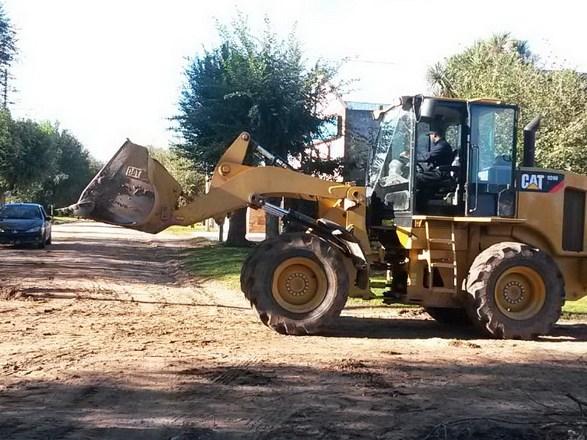 Foto MGP- Emvial trabajos de granza en fin de semana
