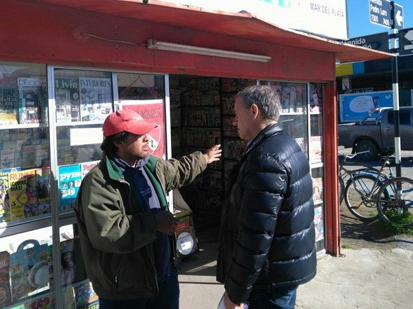 Artime en Malvinas Argentinas