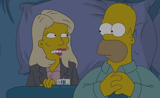 """""""Los Simpson"""" parodian la cabecera de """"Homeland"""""""