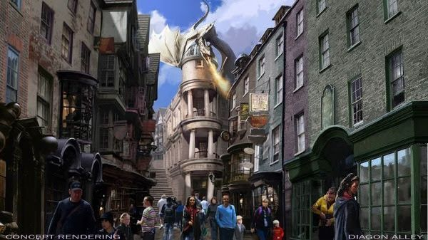 Harry Potter World's Diagon Alley