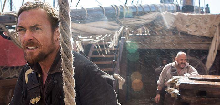 Black Sails 1x05 Flint y Gates