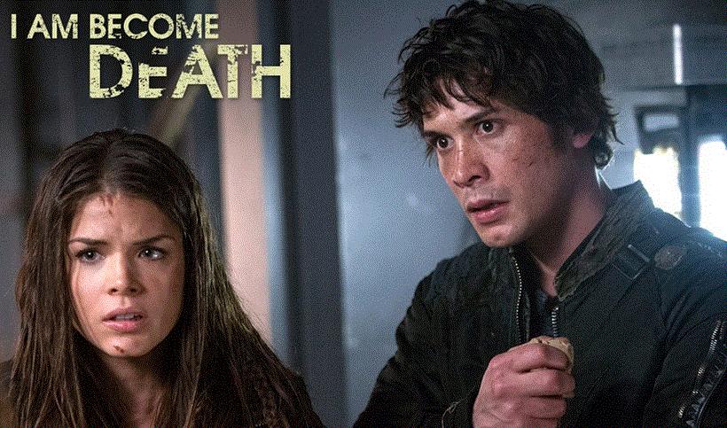 The 100 1x10 I am became Death - Bellamy y Octavia