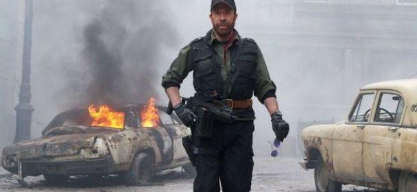 Chuck Norris en The Expendables 2