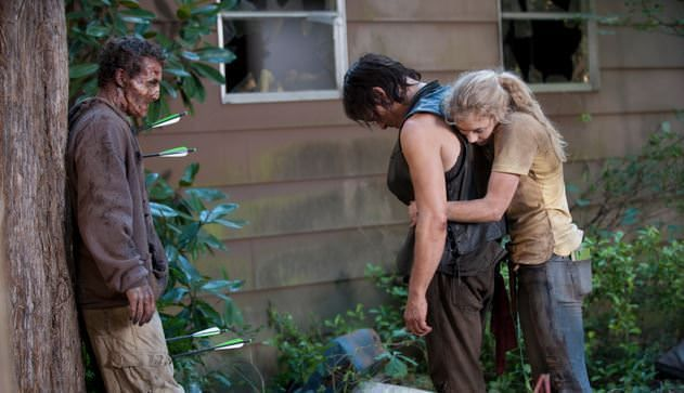 Detalles de la temporada 5 de The Walking Dead - Beth y Daryl