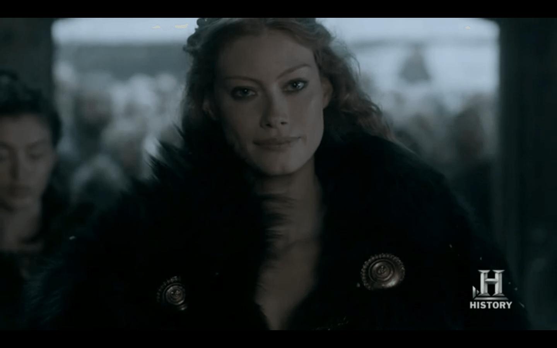 Vikings 2x01 Aslaug
