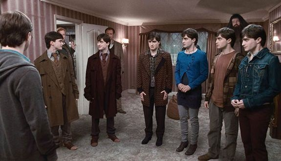 Nuevos Harry Potters en Harry Potter and the Deathly Hallows P1