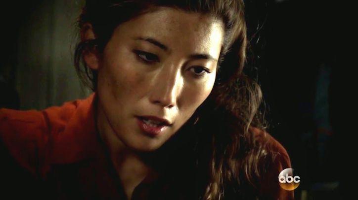 Agents of SHIELD 2x08: Whitehall rejuveneció gracias a la madre de Skye, que fue asesinada por él durante sus experimentos.