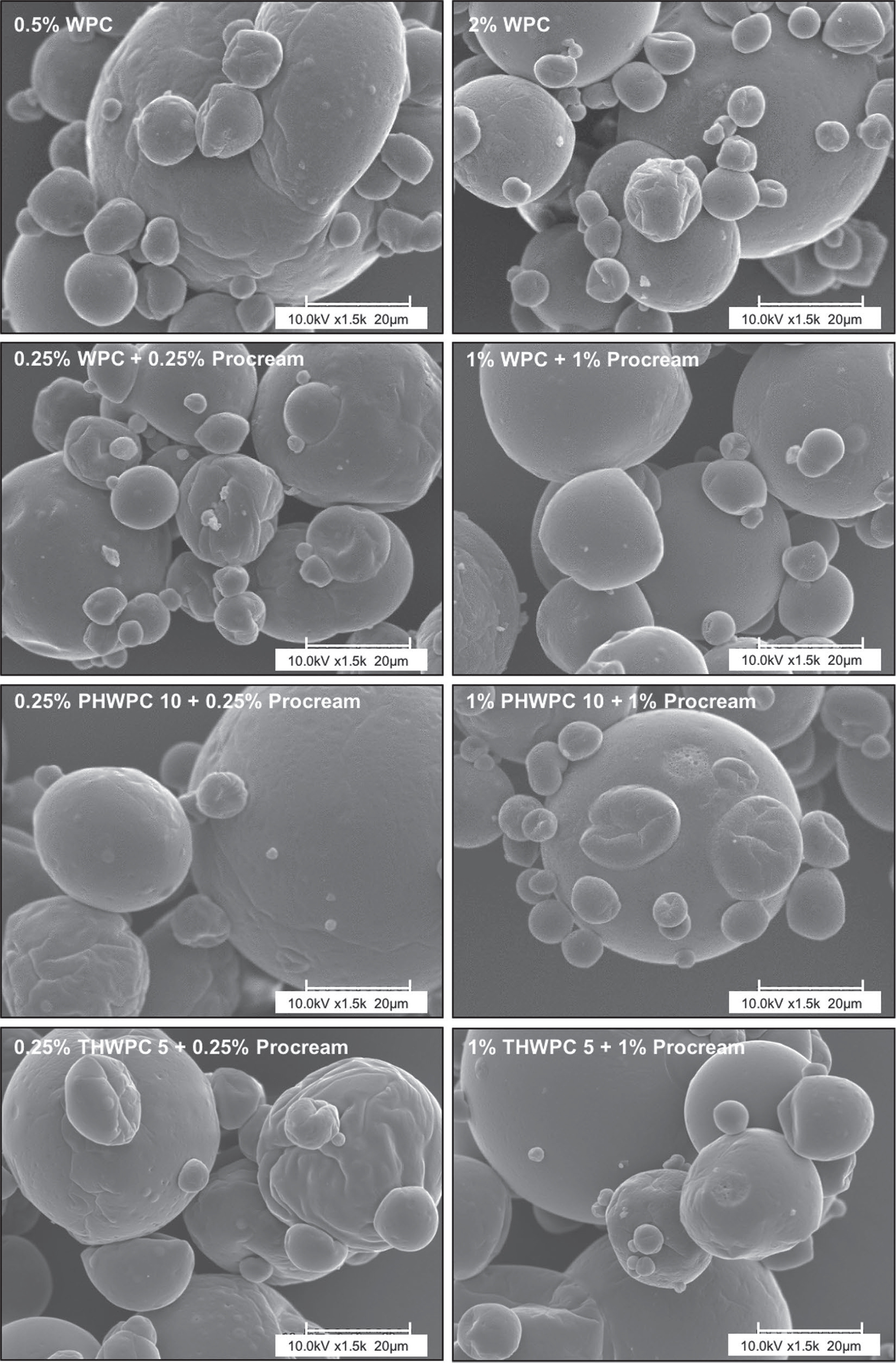 Efficient Encapsulation Of Fish Oil Capitalizing On The Unique Inherent Characteristics Of Whey Cream And Hydrolyzed Whey Protein Journal Of Dairy Science