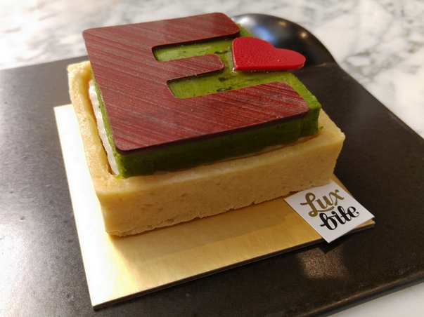 A beautiful cake from Luxbite, an example of an excellent dining destination.