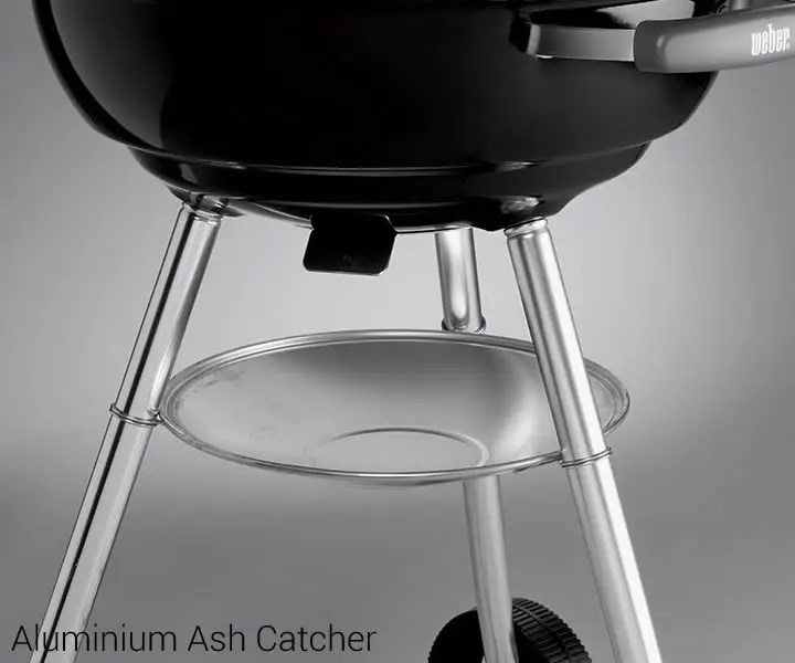 Weber Kettle 47 Weber® Compact 47cm Charcoal Bbq Black (1221004) - Bbq World