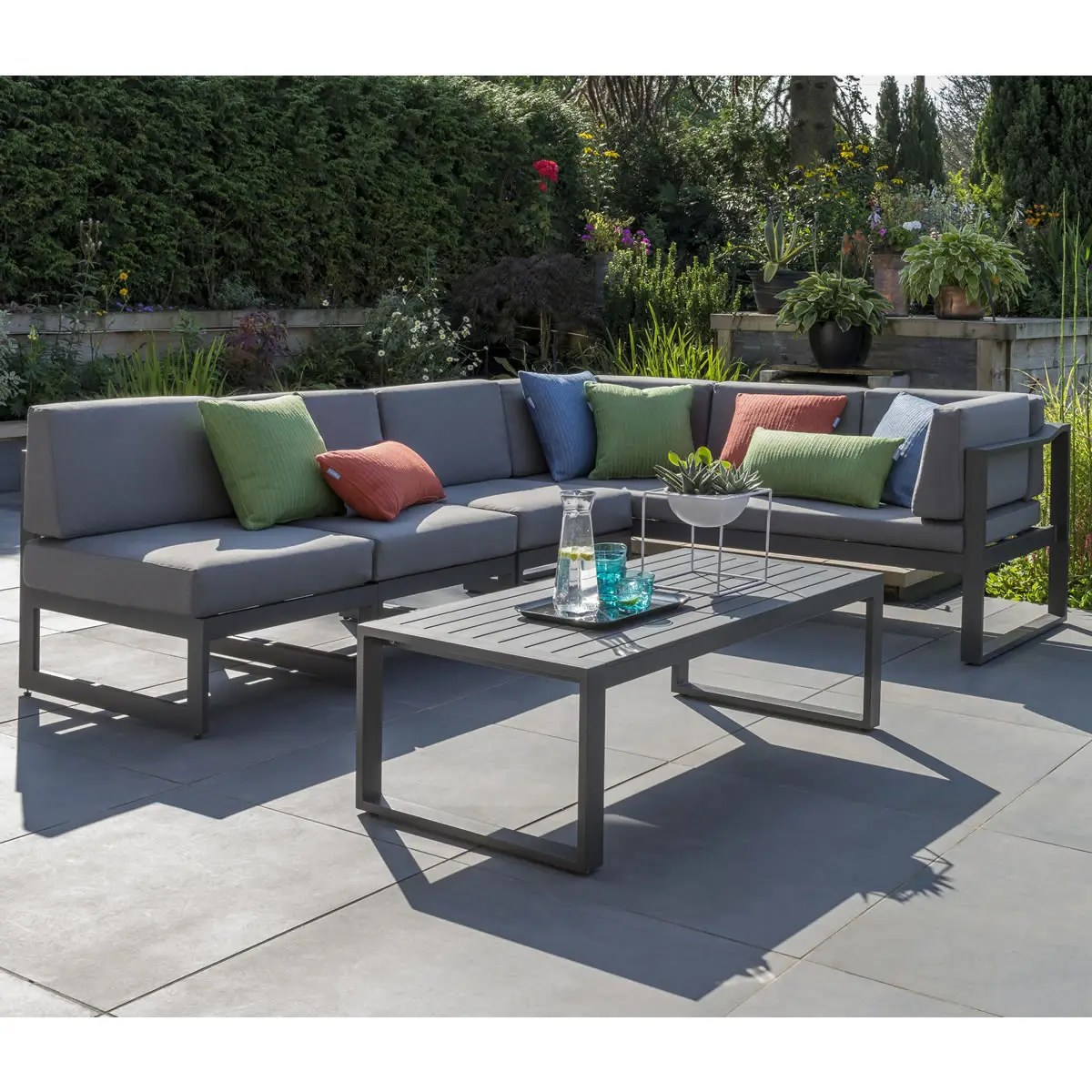 Kettler Menos Versa Corner Lounge Set Mngfv127 0200 Garden Furniture World