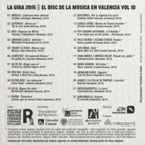 Disc La Gira X_Contraportada