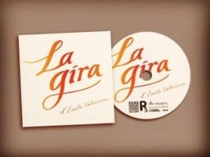 Disc La Gira X_Portada i galeta