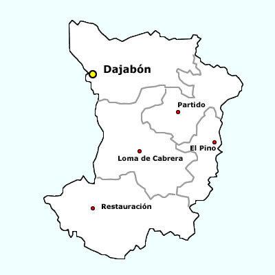 dajabon mapa2 Dajabón alarmada por explotación minera de UNIGOLD