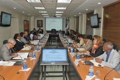 CNSS reunido.jpg CNSS destaca el impacto aumento pensiones en la Seguridad Social