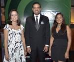 Emilia Rosario, Directora General, Julio Brache, Gerente Ventas y Marlene Brito, Ejecutiva de ventas Europcar
