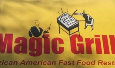 Magic Grill sign