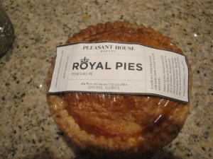 Royal Pies at provenance