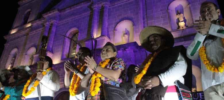 La paz es cultura: Rigoberta Menchú