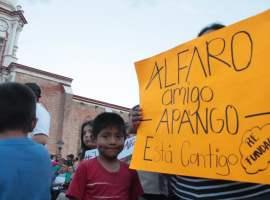 Enrique Alfaro promete planta de tratamiento y solución al problema de agua potable en San Gabriel