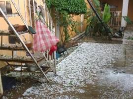 Granizada en Sayula deja daños en dos colonias