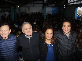 Julio Pereyra junto a la militancia 2
