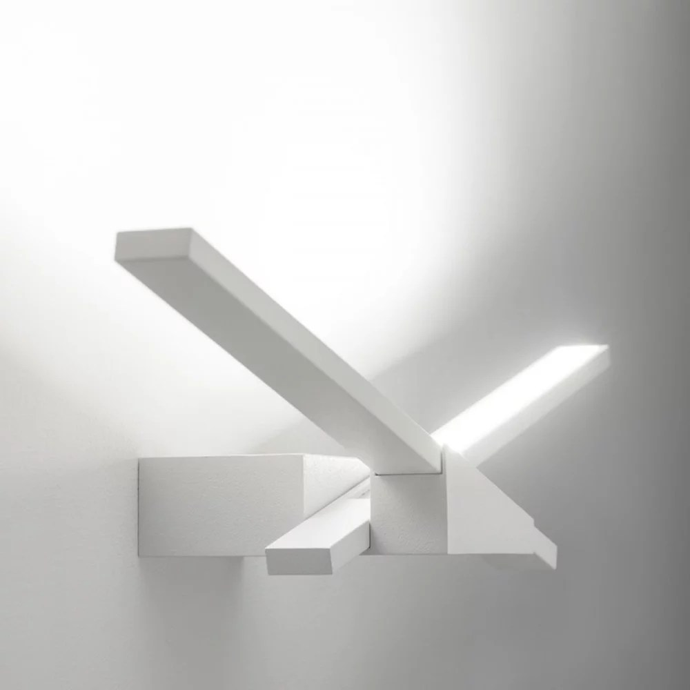 Applique A Led Linea Light Ma&de Wings Applique Led Cm 80 - Parete