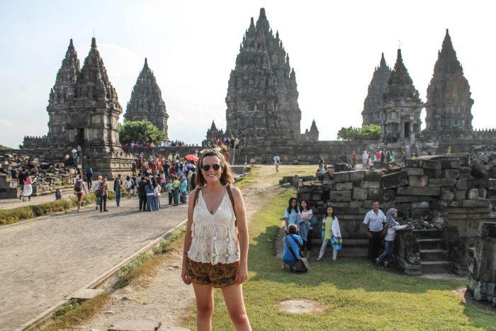 Prambanan desde Yogyakarta