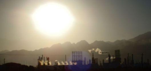 Los andes y la refinería