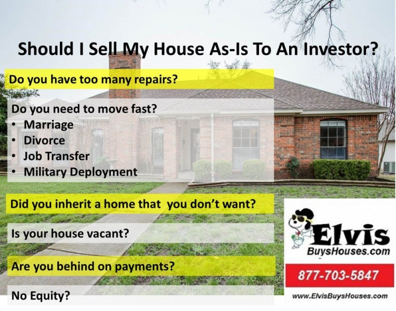 Should I Sell My House As-Is To An Investor? - Seller Site