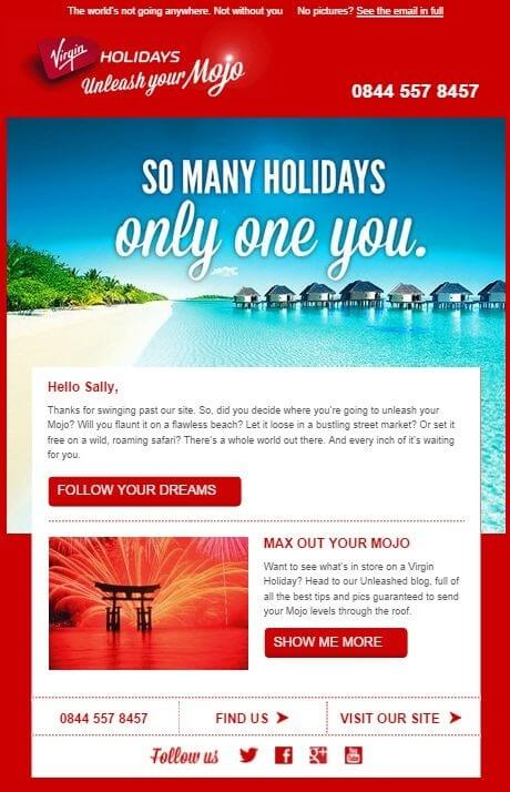 12 Travel Email Templates To Sail Thru Your Subscriber\u0027s Mind
