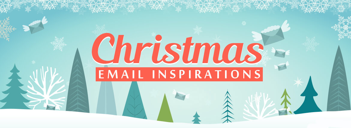 Christmas Sale Email Examples to Deck Up your Holiday Emails - merry christmas email banner