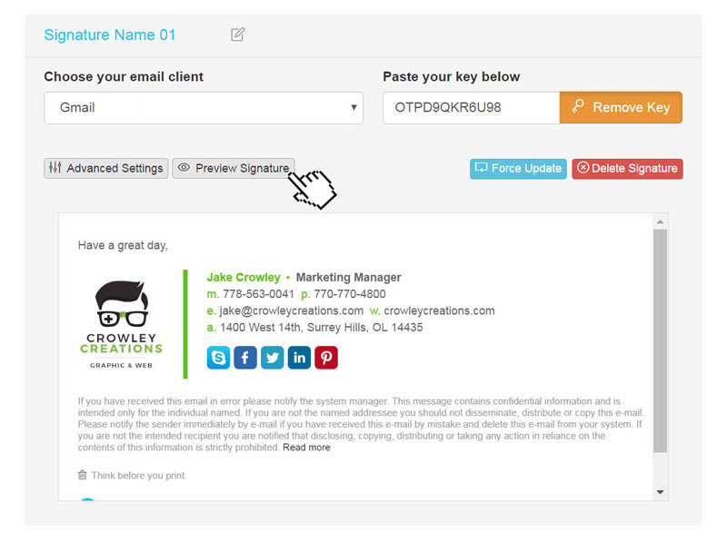 How to install your HTML email signature in Gmail