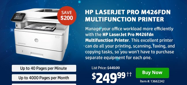 HP Coupon Book! Up To $300 Off HP\u0027s Best Selling Printers