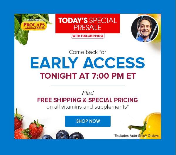 Tonight\u0027s Main Event Andrew Lessman\u0027s Today\u0027s Special Presale - HSN