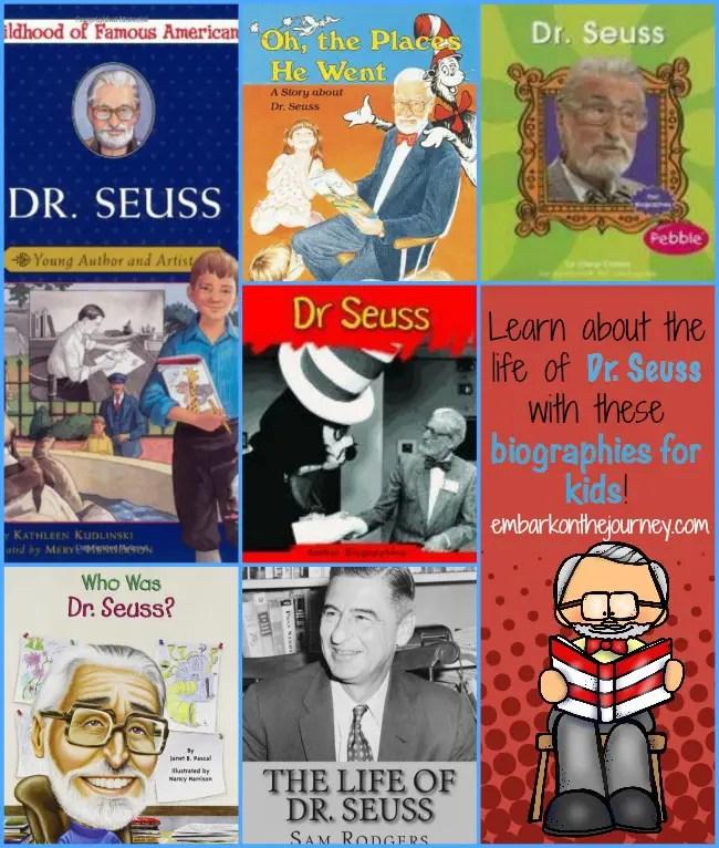 Dr Seuss Biographies for Kids