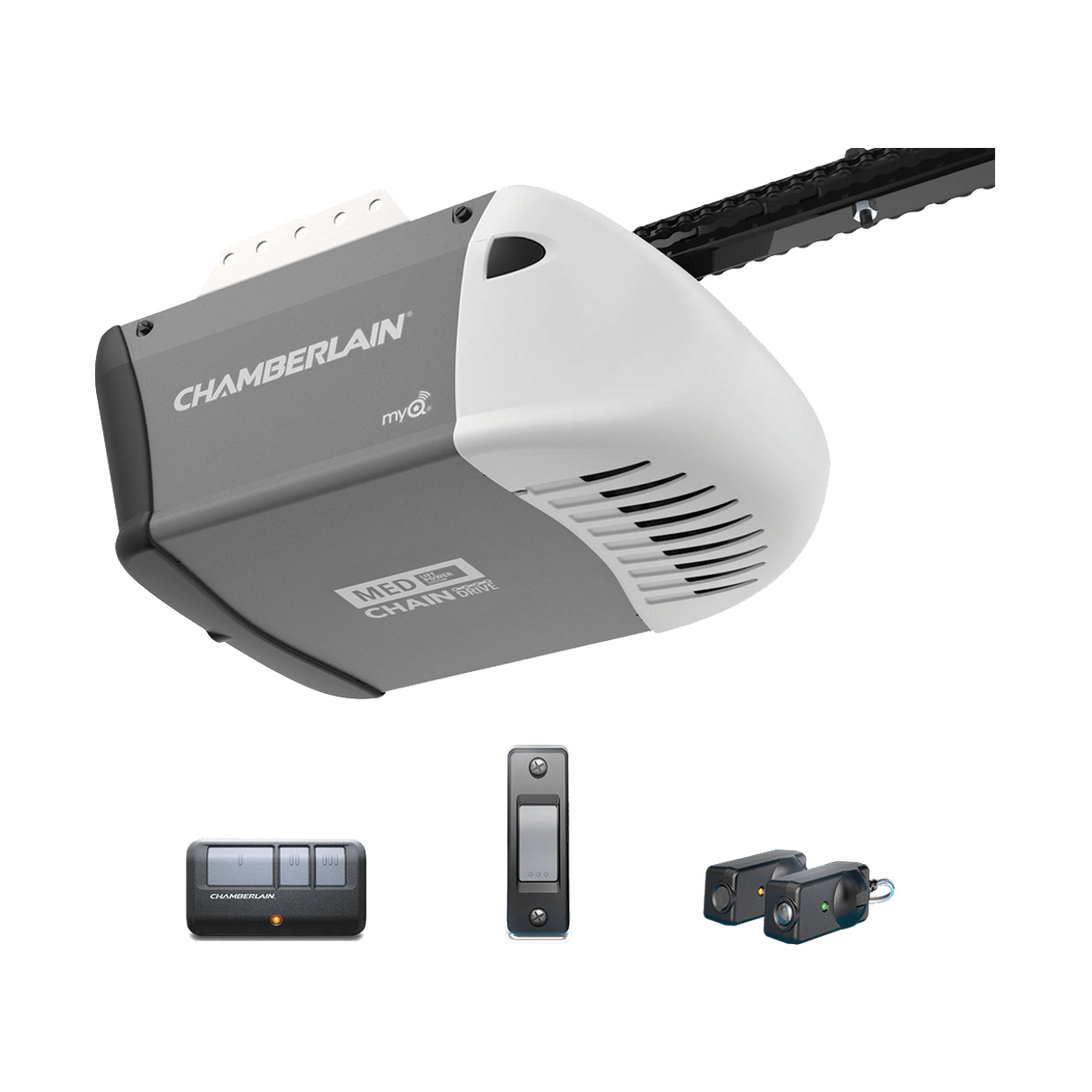App Enabled Garage Door Opener C203 Chain Drive Garage Door Openers Chamberlain