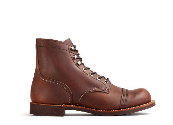 Men39s 8111 Iron Ranger 6quot Boot Red Wing Heritage