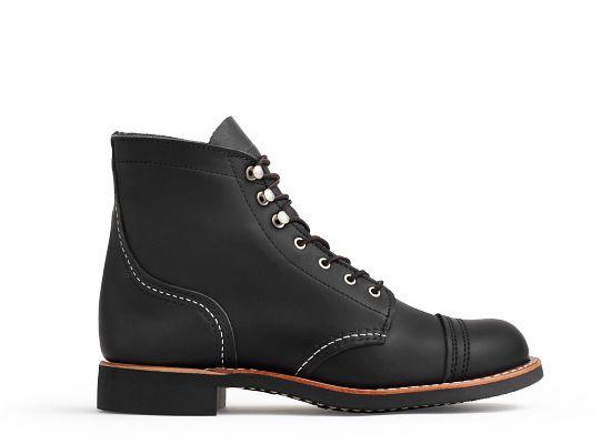 Women39s 3366 Iron Ranger Black Boot Red Wing Heritage Europe